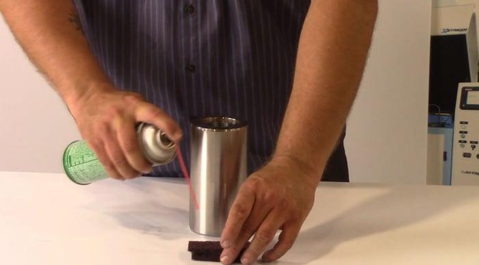 clean the high pressure cylinder-web