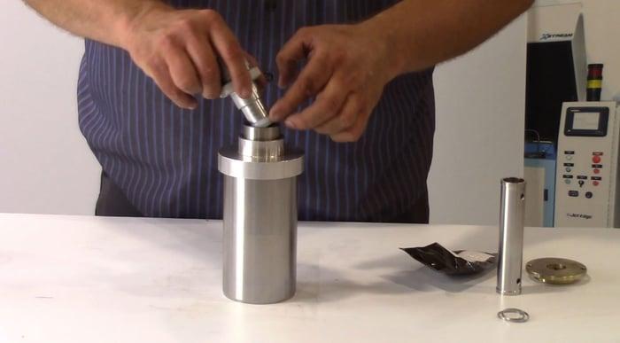high pressure seal insertion-web