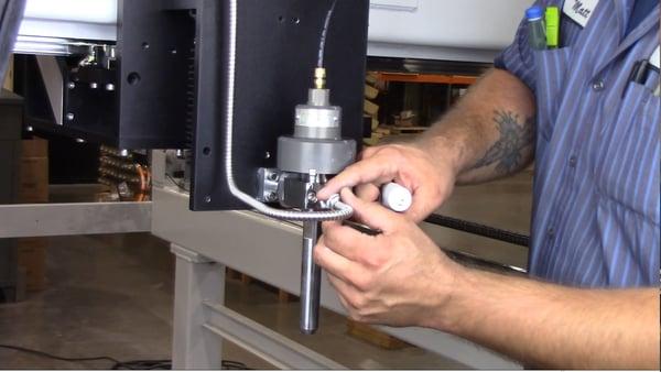 install high pressure tubing