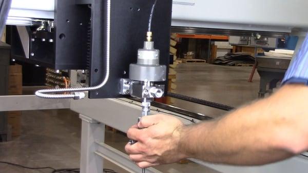 install into valve body