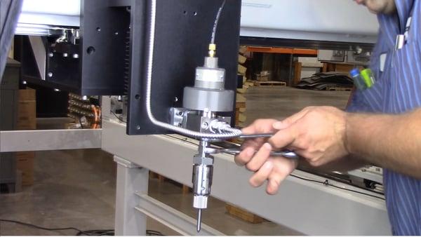lossen adapter to valve body