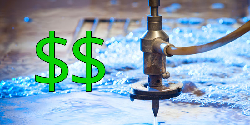 What Factors into the Price of a Water Jet Cutting System?